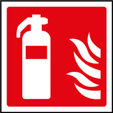 Fire Extinguisher Signs - plastic & sticker options