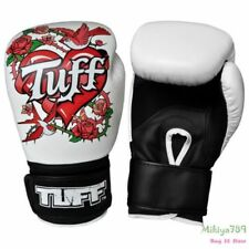 Rose Thai Boxing Gloves Women MMA Muay Thai Gloves 8 oz 16 oz Leather Youth Win