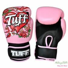 Rose Pink Boxing Gloves Womens Boxing Gloves 12 Oz Muay Thai  8-16oz Leather MMA