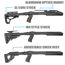FAB Defense Ruger 10/22 Tactical Stocks w/ Cheek Rest