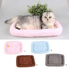 Super Soft Washable Pet Cat Dog Cushion Sleeper Mat Comfortable Kennel Pad