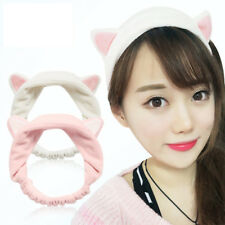Womens Girls Cat Ears Headband Hairband Hair Head Band Party Xmas Gift Headdress