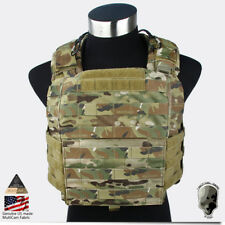 TMC CAC Plate Carrier Cage Armor Body Vest Chassis Multicam CP Combat Hunting