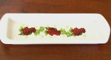 Relish Plate Olive Dish Grapes Ceramic Party Serving Tray California Pantry