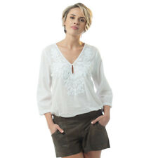 NEW Louana top with white embroidery Women's by Kaja Clothing