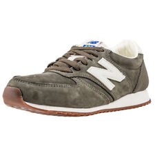 New Balance 420 Classic 70s Running Mens Olive Suede Casual Trainers Lace-up