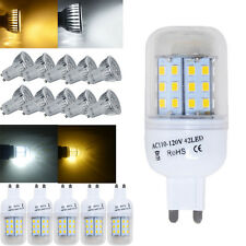 4 10x 4W 6W GU10 G9 LED Corn Bulbs Spot Light Downlight C/W Lamp Energy A++/G4