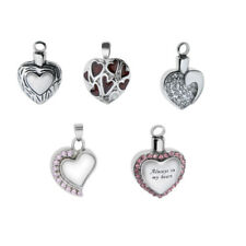 Exquisite Cremation Keepsake Memorial Urn Pendant Openable Pet Ashes Jewelry