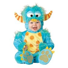 New Lil Monster Infant Toddler Jumpsuit Costume 6 - 18 Months InCharacter Unisex