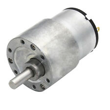 12V 7RPM-960RPM Gearbox Replacement DC Motor 37mm Gear Motor High Torque