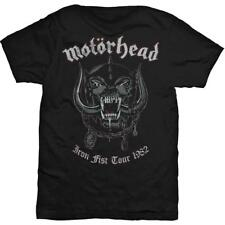OFFICIAL LICENSED - MOTORHEAD - WARPIG IRON FIST TOUR 1982 T SHIRT - LEMMY METAL