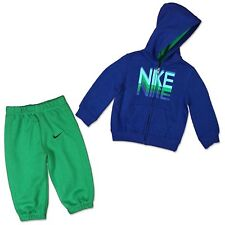 Nike Infant Baby Full Zip Tracksuit Children Hooded Jogging Suit Trousers Jacket