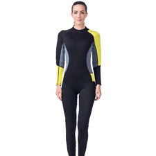 Women 3mm Neoprene Scuba Dive Wetsuit Spearfishing Diving Surf Swim Jumpsuit