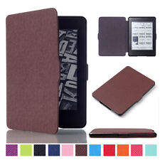 Smart Wake Up PU Leather Case Cover Shell Fit Amazon Kindle Paperwhite eReader