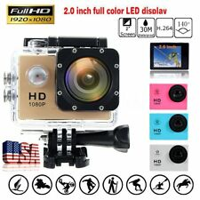 NEW Sport Video Full 1080P Action Camera Camcorder Cam HD DV Waterproof 12MP
