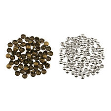 100Pcs Cone DIY Studs Rivet Nailhead Spots Rock Punk Spike Bag Shoes Crafts