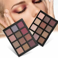 12 Colors New Fashion EyeShadow Makeup Shimmer Matte Eyeshadow Palette SM