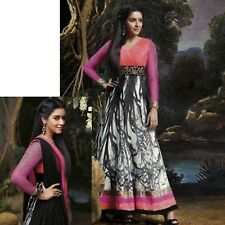 ANARKALI DESIGNER SALWAR KAMEEZ INDIAN BOLLYWOOD PAKISTANI WEDDING SALWAR SUIT