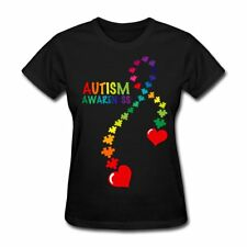 Autism Awareness Puzzle Piece Ribbon Women's T-Shirt by Spreadshirt™
