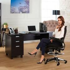 Ergonomic Adjustable Drafting Reception Office Stool-Chair with Armrests OO55