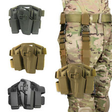 Tactical Drop Leg Gun Holster Pistol Serpa Right Hand For M9 Concealed Carry