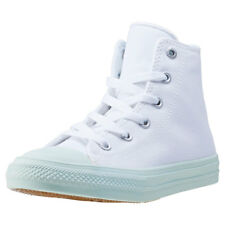 Converse Chuck Taylor All Star Ii Hi Kids Trainers White Green New Shoes