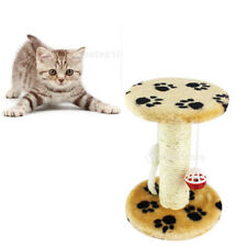 Cat Scratching Post Pole Activity Center Play Toys Sisal Funiture House Condo