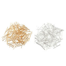 200PCS Iron Metal Flat Head Pins For Jewelry Making Supplies Findings 19mm
