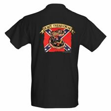 Don't Tread On Me, two sided Confederate Rebel t-shirt sizes S thru XXL