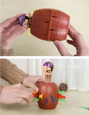 Child's Funny Lucky Stab Pop Up Gadget Pirate Barrel Game Toy Gift Home Decor