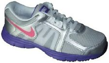 NIKE Dual Fusion ST2 GS Running Shoes NIB Girls Youth Size 6 / 38.5 Silver Pink
