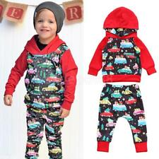 Baby Boys Hooded Thin Set 2pcs Tracksuit Clothing Set Outfit 0-24 Months