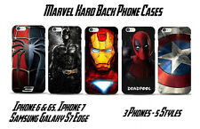 Marvel Superhero Hard Phone Case Cover S7 Edge, Iphone 6/6S. Iphone 7. Fast Post
