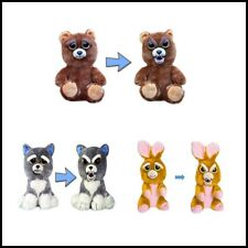 Feisty Pet Growls-A-Lot Feisty Adorable Animal Plush Stuffed Toys Squeeze Bear