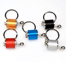 Car Gear Box Shifter Lever Car Key Chain Fob Ring Cool Auto Parts