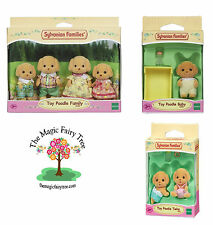 Sylvanian Families - Toy Poodle  Dog Baby, Twins, Family