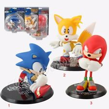 Game Sonic the Hedgehog Sonic Tails Knuckles 10cm-14cm PVC Figure 3 Choices