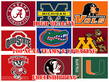 FULL NCAA Teams Logo Flags Banners Poster 3x5 ft Flag High Quality