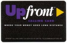 UpFront Calling Card 'Where Your Money Goes Long Distance' Phone Card