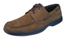 Timberland Earthkeepers Hulls Cove 2-Eye Mens Suede Boat Shoes Moccasins Brown