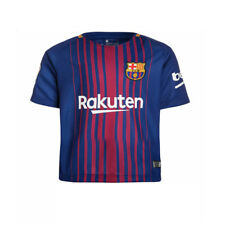 MESSI Youth Football Soccer Youth Jersey Short Sleeve for 3-14Y Boy Sports Suit