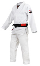 Fuji Sports Premium All Around BJJ Brazilian Jiu Jitsu Gi Uniform Kimono White