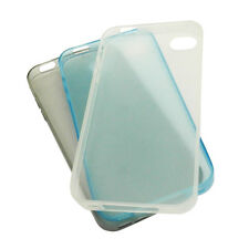 LOT TPU iPhone Case Ultra thin Slim 0.3mm Soft Matte Clear For Apple iPhone 4 4s