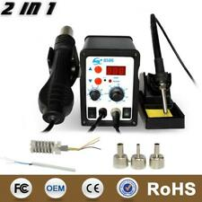 Digital Smd Rework Station Esd Soldering Hot Air 2 In 1 Mobile Phone Repair Tool