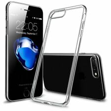 New Hybrid Skin Transparent Case TPU Gel Cover For Apple iPhone x 10 8 7 5s 6s