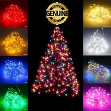 Waterproof LED String Lights 2-10M 100 Christmas Xmas Party Fairy Lamp For Tree