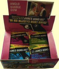 Anglo James Bond OHMSS (VGC) Pick the cards you need.