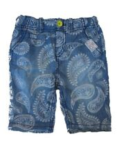 Mexx Boy's Children's Jeans Shorts Paper Patterned Size 74 - 92