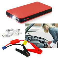 Red 12V 20000mAh Multi-Function Car Jump Starter Power Booster Battery Charger W