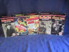 Lot VHS Classic Cliffhanger Chapter Movies Buck Rogers-Wild West Days-OOP-Rare